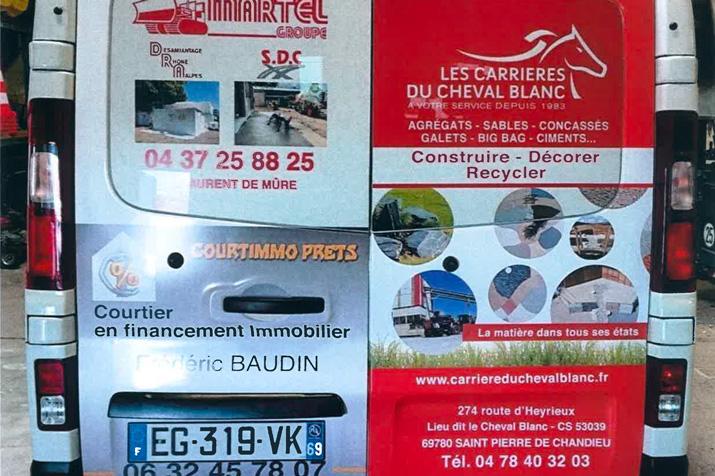 Les Carrières du Cheval Blanc roulent pour la commune de Saint-Pierre-de-Chandieu