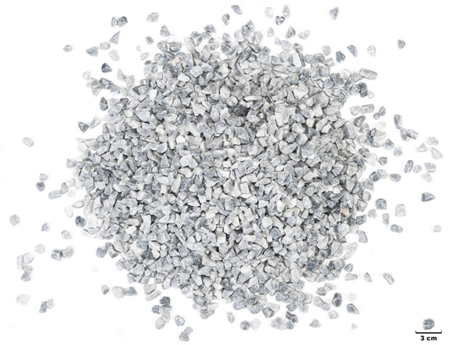 Concassé marbre gris bleu 6 12
