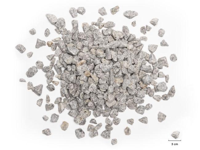 Concassé 12 20 granit gris clair