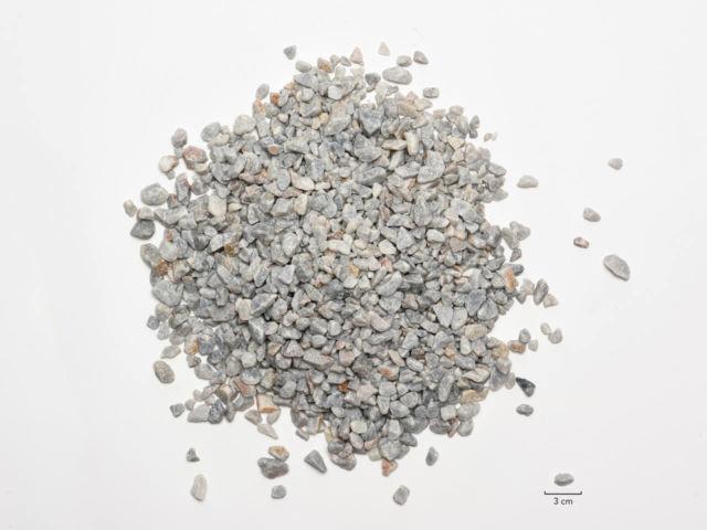 Concassé calcaire 6/16 grisbleu
